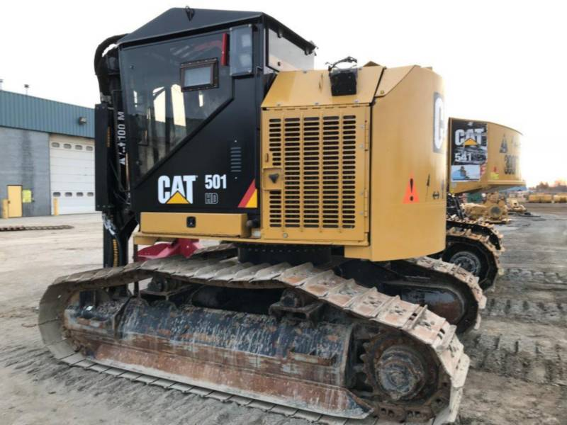 CATERPILLAR FORESTRY - HARVESTER 501HD equipment  photo 2