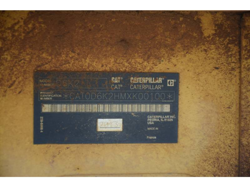 CATERPILLAR TRACK TYPE TRACTORS D 6 K2 XL equipment  photo 5