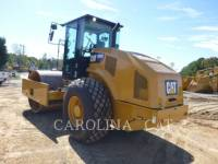 CATERPILLAR COMPACTEUR VIBRANT, MONOCYLINDRE LISSE CS64B CB equipment  photo 2
