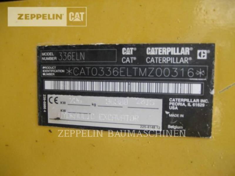 CATERPILLAR PELLES SUR CHAINES 336ELN equipment  photo 13