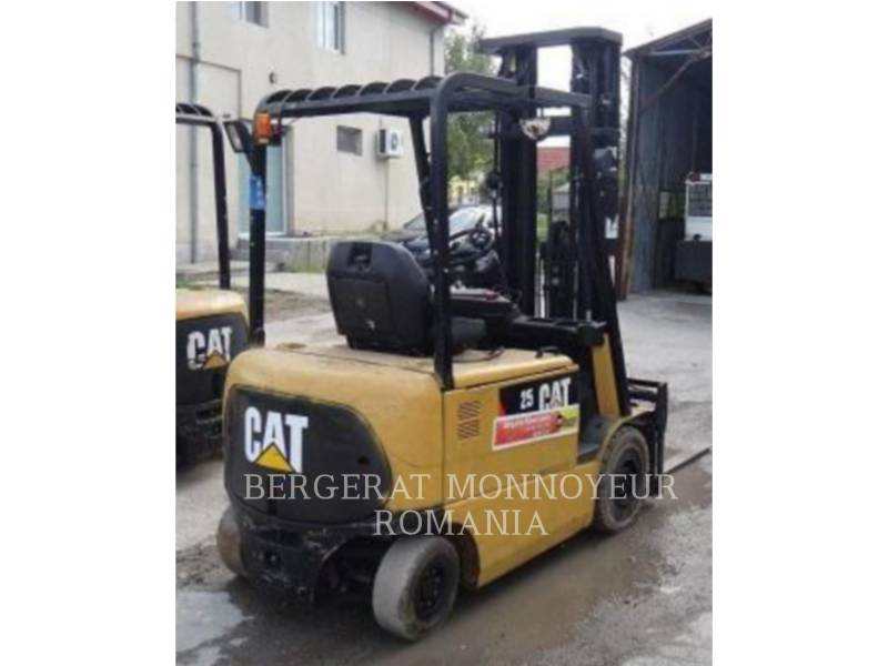 MITSUBISHI CATERPILLAR FORKLIFT MONTACARGAS EP25KPAC equipment  photo 3