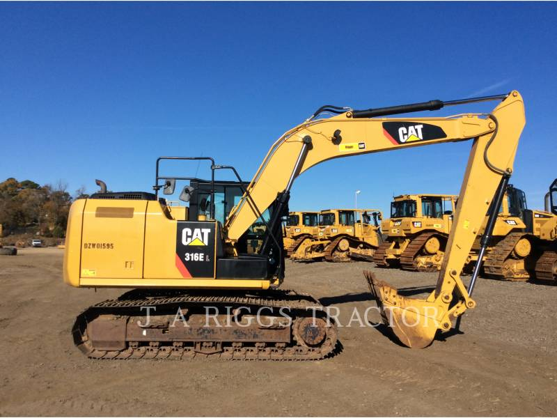 CATERPILLAR EXCAVADORAS DE CADENAS 316E 10 equipment  photo 7