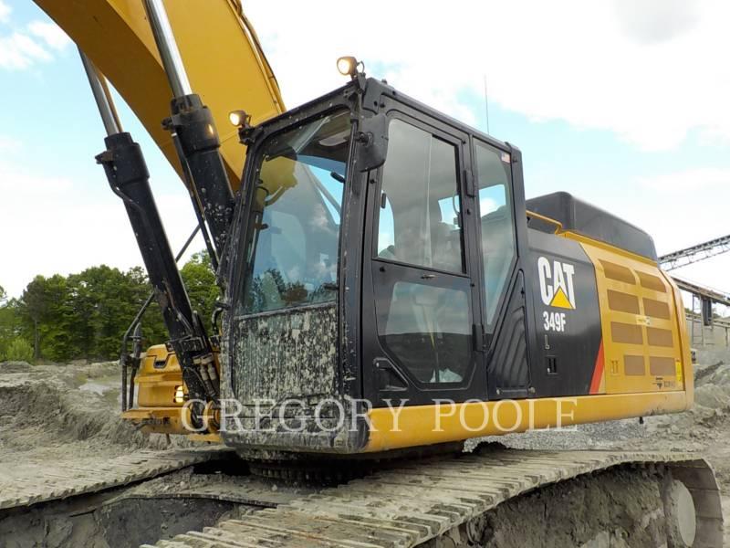 CATERPILLAR PELLES SUR CHAINES 349F L equipment  photo 2
