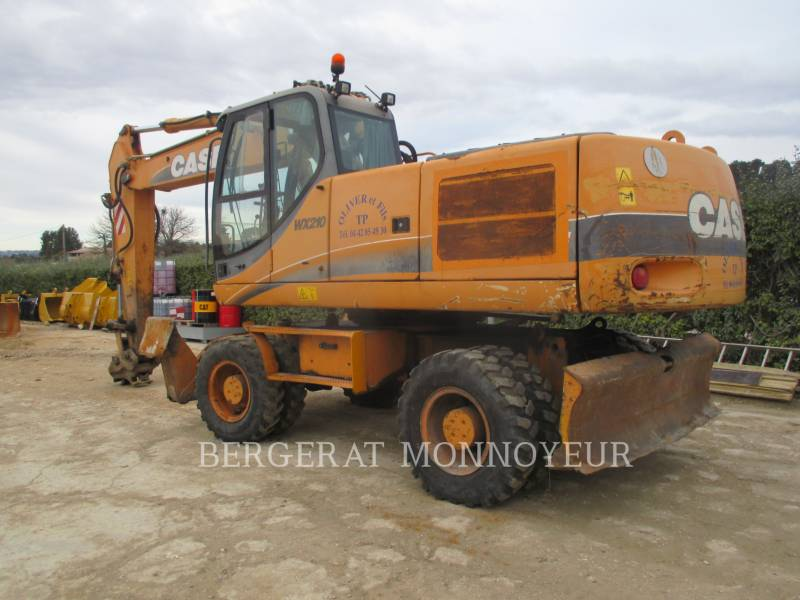 CASE PELLES SUR PNEUS WX210 equipment  photo 8