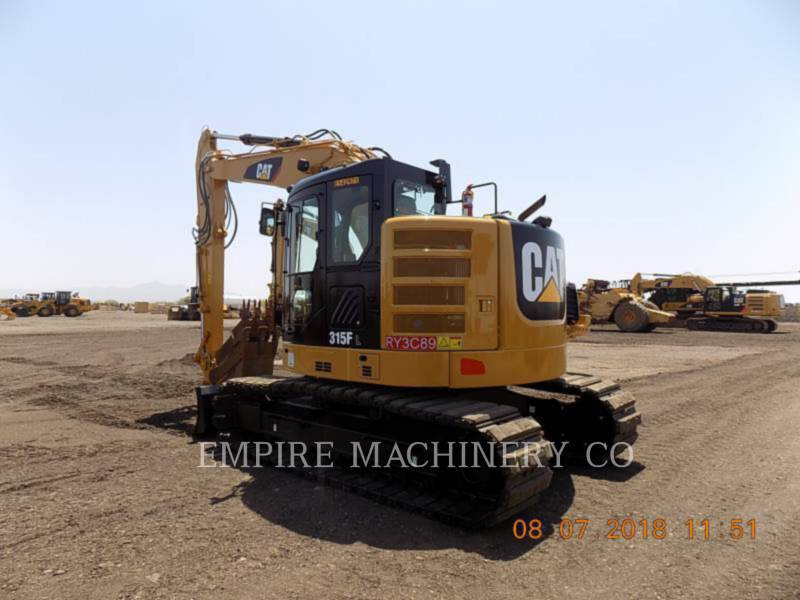 Caterpillar EXCAVATOARE PE ŞENILE 315FLCR equipment  photo 3