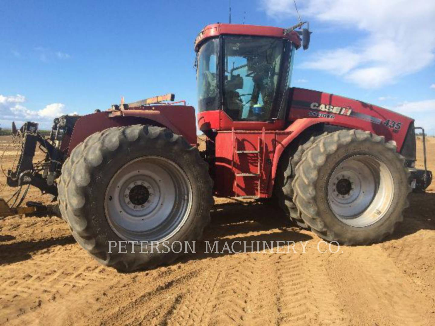 Detail photo of 2009 Case IH STX435 from Construction Equipment Guide