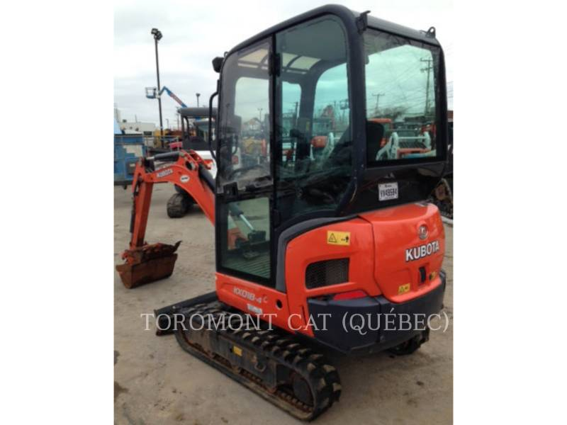 KUBOTA CORPORATION TRACK EXCAVATORS KX018-4 equipment  photo 6