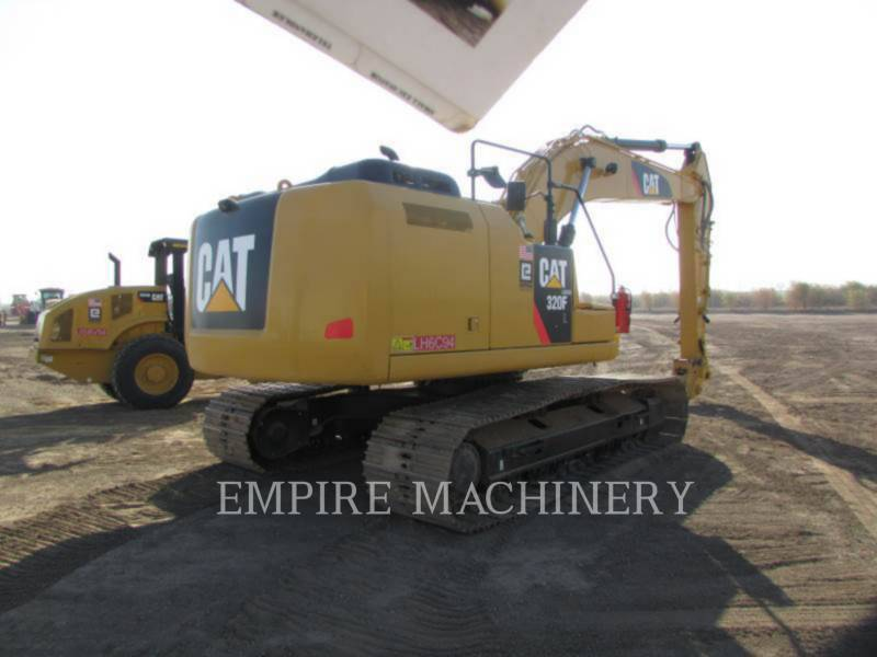 CATERPILLAR PELLES SUR CHAINES 320FL equipment  photo 2