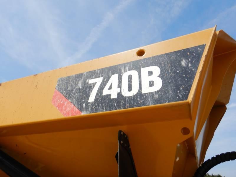 CATERPILLAR ARTICULATED TRUCKS 740 B equipment  photo 20