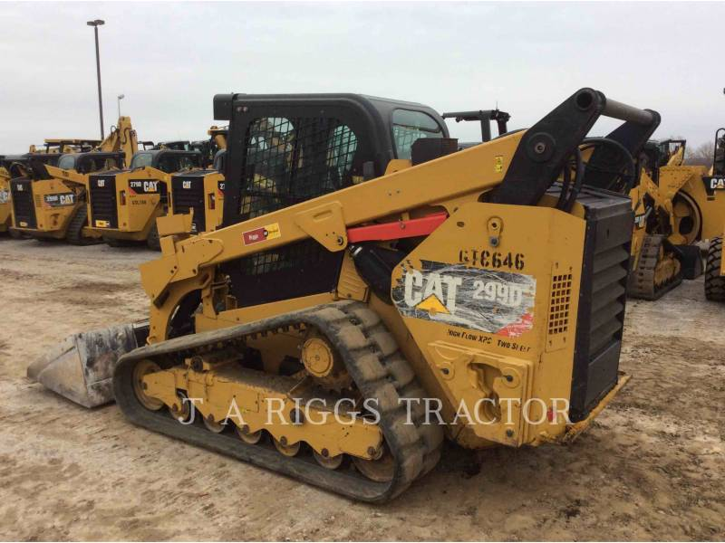 CATERPILLAR MULTI TERRAIN LOADERS 299D AH equipment  photo 4