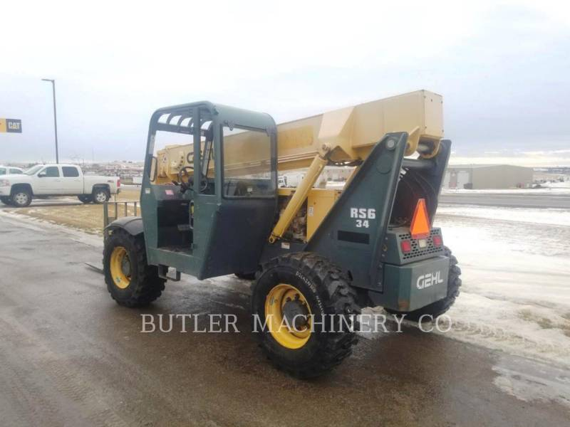 GEHL COMPANY TELEHANDLER RS6-34 equipment  photo 3