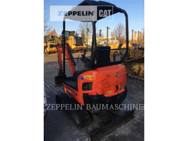KUBOTA CORPORATION KOPARKI GĄSIENICOWE KX016-4 equipment  photo 3