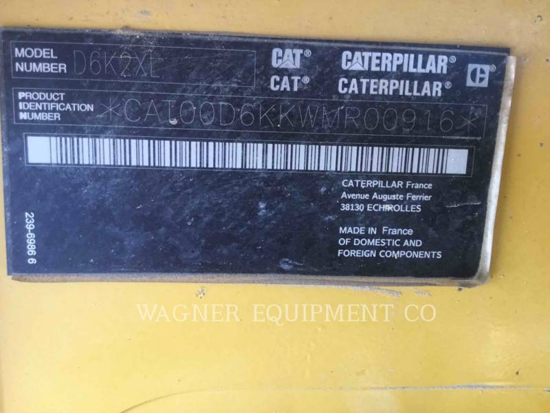 CATERPILLAR TRATTORI CINGOLATI D6K2XL equipment  photo 10