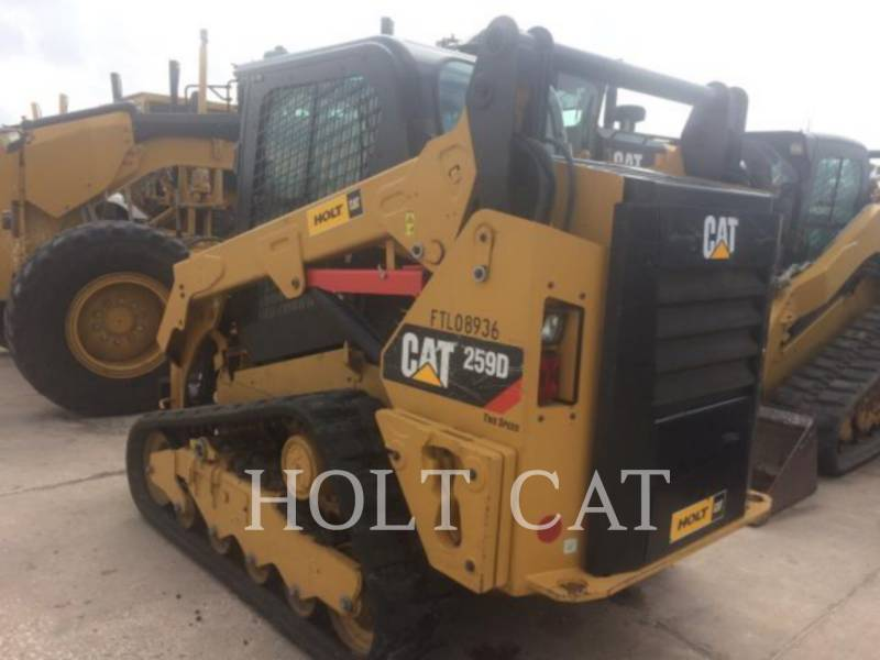 CATERPILLAR MULTI TERRAIN LOADERS 259D CAB equipment  photo 4