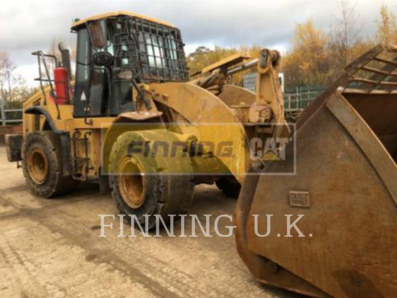 CATERPILLAR WHEEL LOADERS/INTEGRATED TOOLCARRIERS 950H WASTE equipment  photo 3