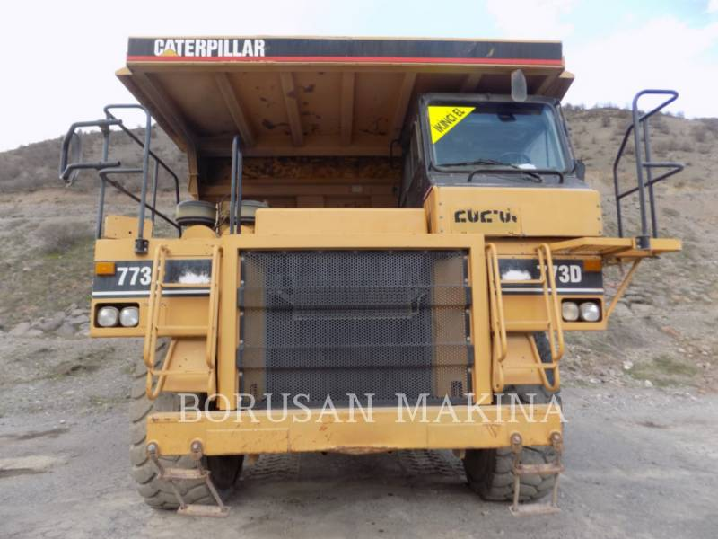 CATERPILLAR MULDENKIPPER 773 equipment  photo 2
