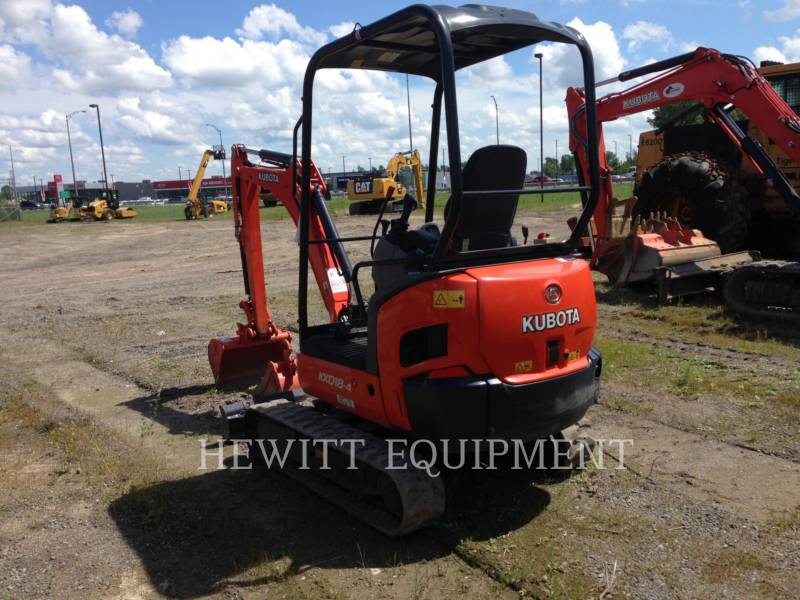KUBOTA CANADA LTD. TRACK EXCAVATORS KX018-4 equipment  photo 2