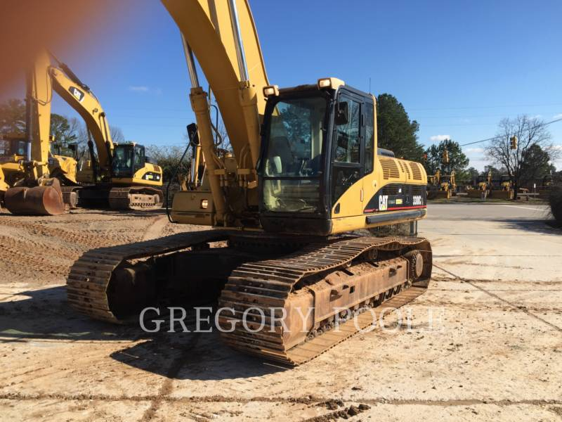 CATERPILLAR TRACK EXCAVATORS 330C L equipment  photo 2