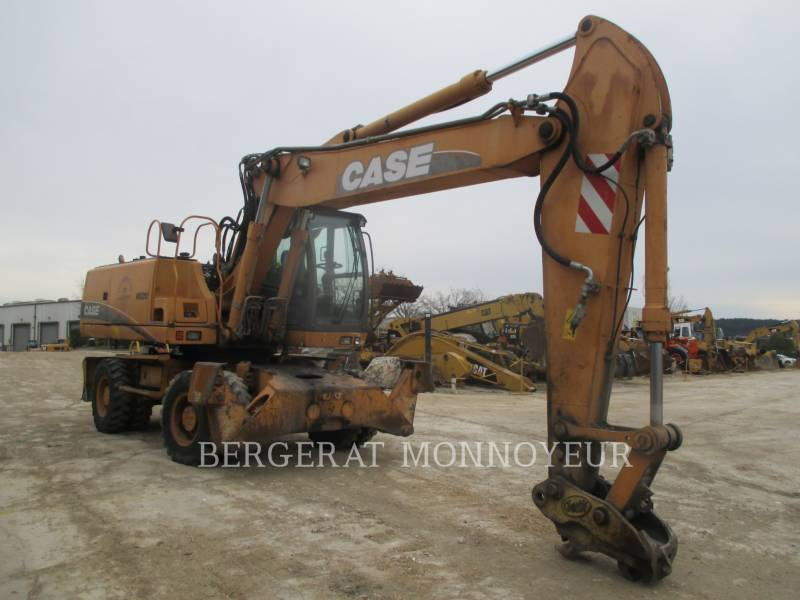 CASE PELLES SUR PNEUS WX210 equipment  photo 1