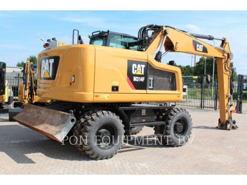 CATERPILLAR ESCAVADEIRAS DE RODAS M 314 F equipment  photo 4