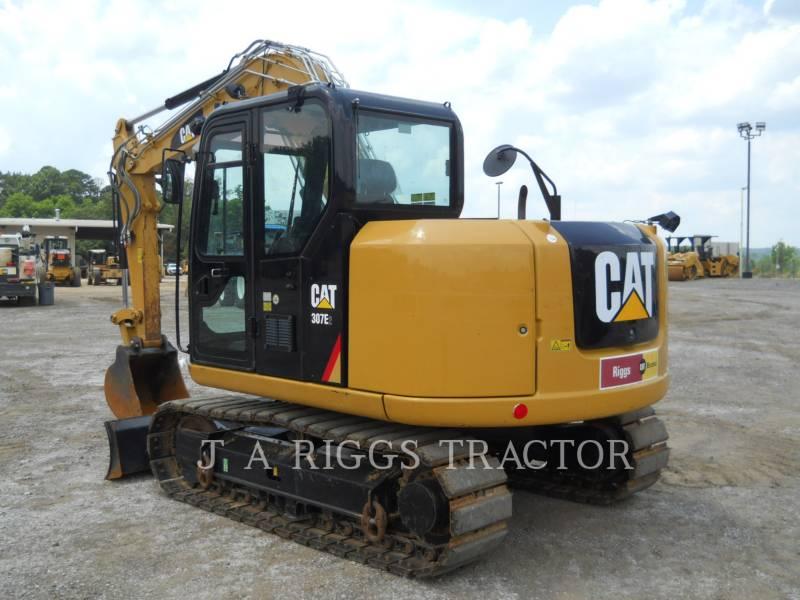 CATERPILLAR TRACK EXCAVATORS 307E equipment  photo 3