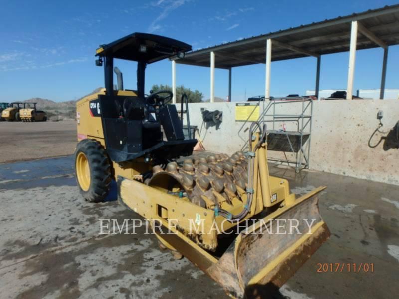 CATERPILLAR VIBRATORY SINGLE DRUM PAD CP34 equipment  photo 1