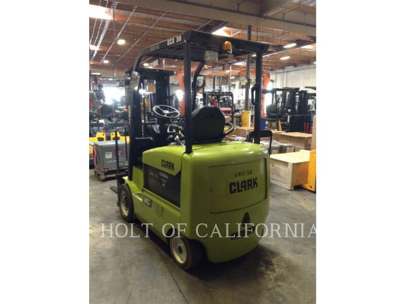 CLARK MONTACARGAS ECX30 equipment  photo 4