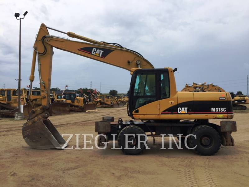 CATERPILLAR EXCAVADORAS DE RUEDAS M318C equipment  photo 7