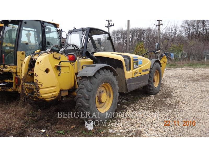 KOMATSU TELEHANDLER WH 714 H equipment  photo 11