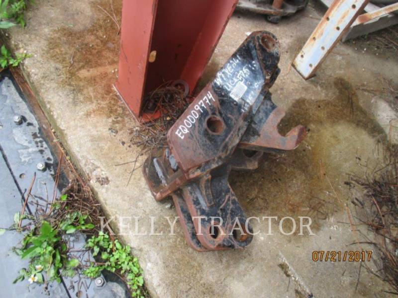 CATERPILLAR WT - QUICK COUPLER QUICK COUPLER FOR 416/420 BACKHOE LOADER equipment  photo 2