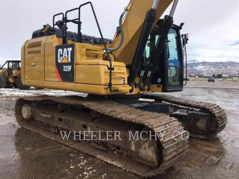 CATERPILLAR TRACK EXCAVATORS 329F L CF equipment  photo 4