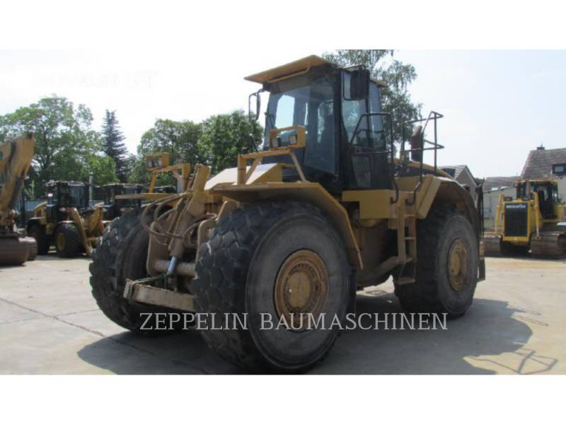 CATERPILLAR SPYCHARKI KOŁOWE 824G equipment  photo 2