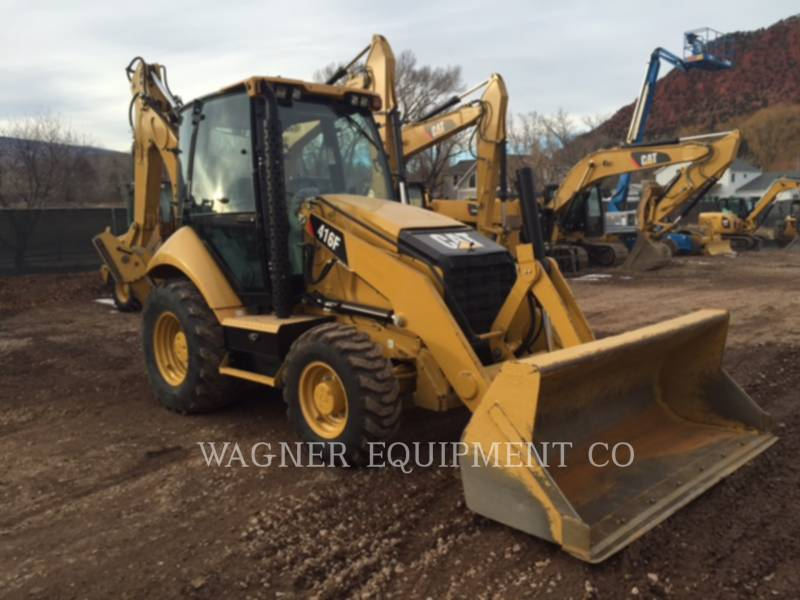 CATERPILLAR CHARGEUSES-PELLETEUSES 416F 4WD equipment  photo 1