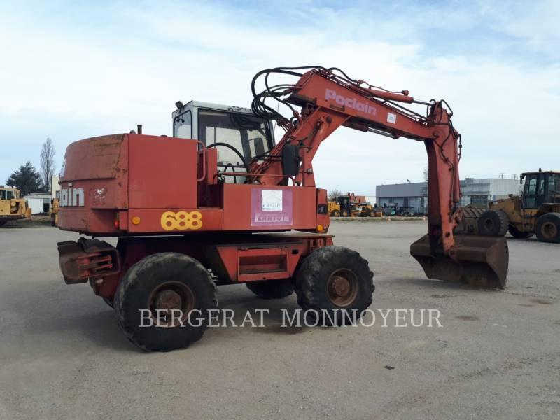 POCLAIN MOBILBAGGER P61 equipment  photo 4