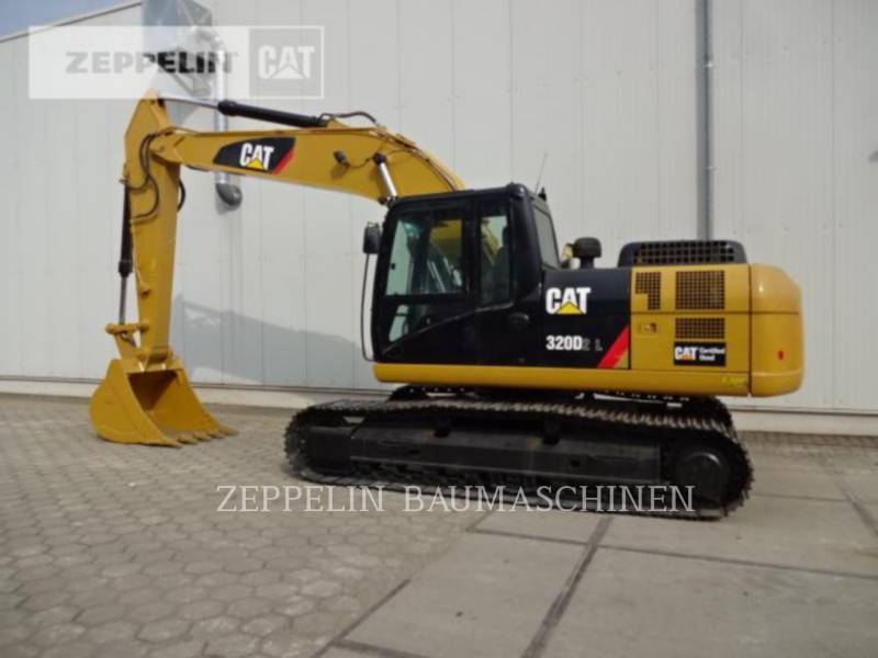 CATERPILLAR KETTEN-HYDRAULIKBAGGER 320D2L equipment  photo 6