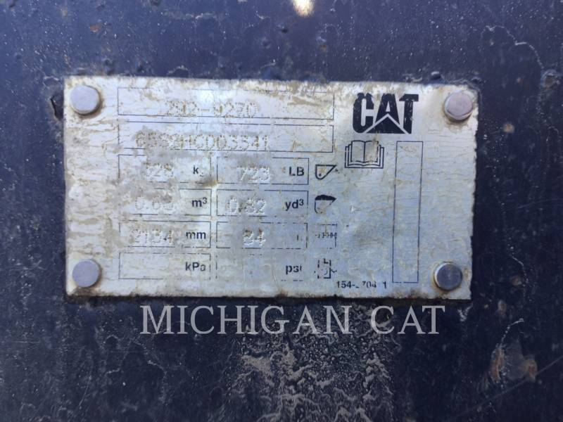 CATERPILLAR MULTI TERRAIN LOADERS 297C CHQ equipment  photo 6
