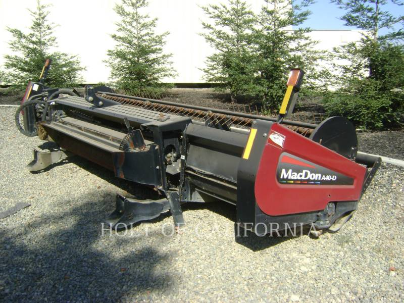 MACDON ANDAINEURS AG M205  GMH1099 equipment  photo 11