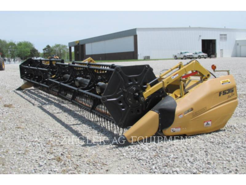 LEXION COMBINE Rabatteurs F535 equipment  photo 1