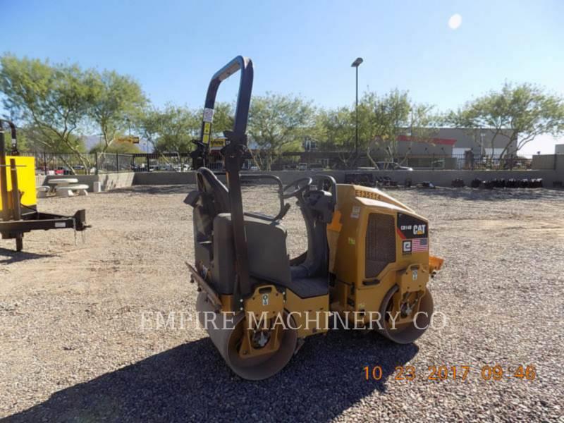 CATERPILLAR TANDEMOWY WALEC WIBRACYJNY DO ASFALTU (STAL-STAL) CB14B equipment  photo 2