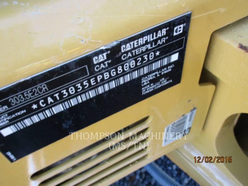 CATERPILLAR EXCAVADORAS DE CADENAS 303.5E2 equipment  photo 5