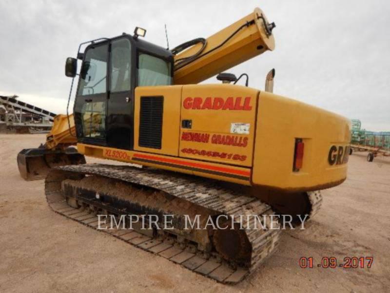GRADALL COMPANY TRACK EXCAVATORS XL5200 equipment  photo 3