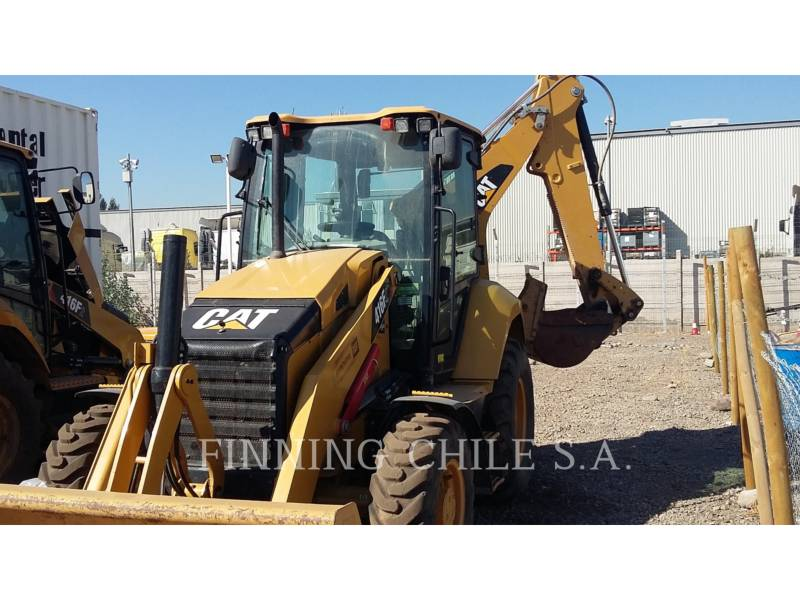 CATERPILLAR RETROEXCAVADORAS CARGADORAS 416F2 equipment  photo 5