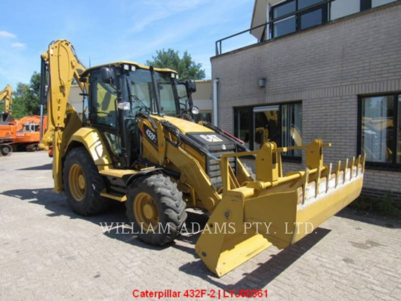 CATERPILLAR BACKHOE LOADERS 432F2LRC equipment  photo 6