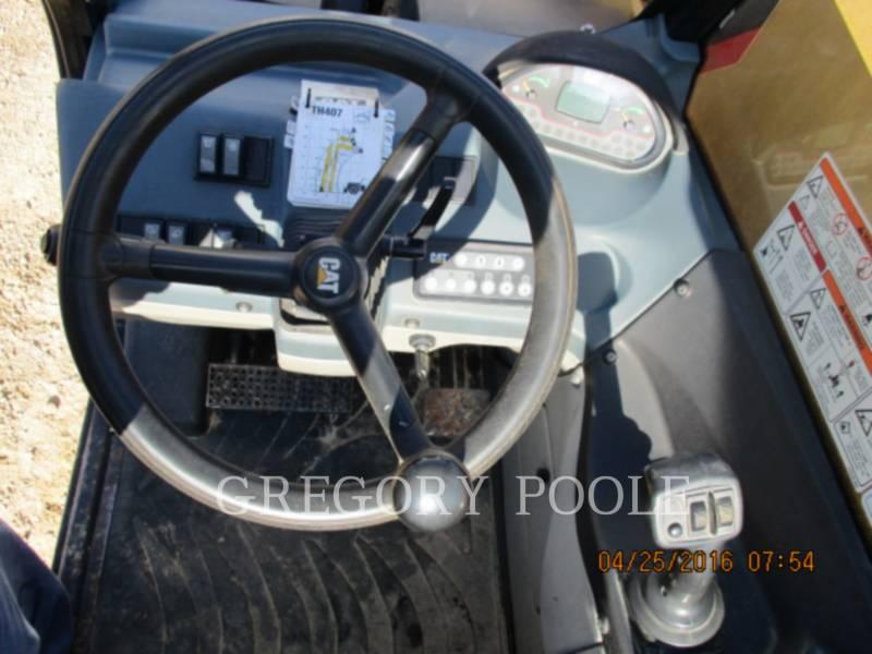 CATERPILLAR TELEHANDLER TH407 equipment  photo 2