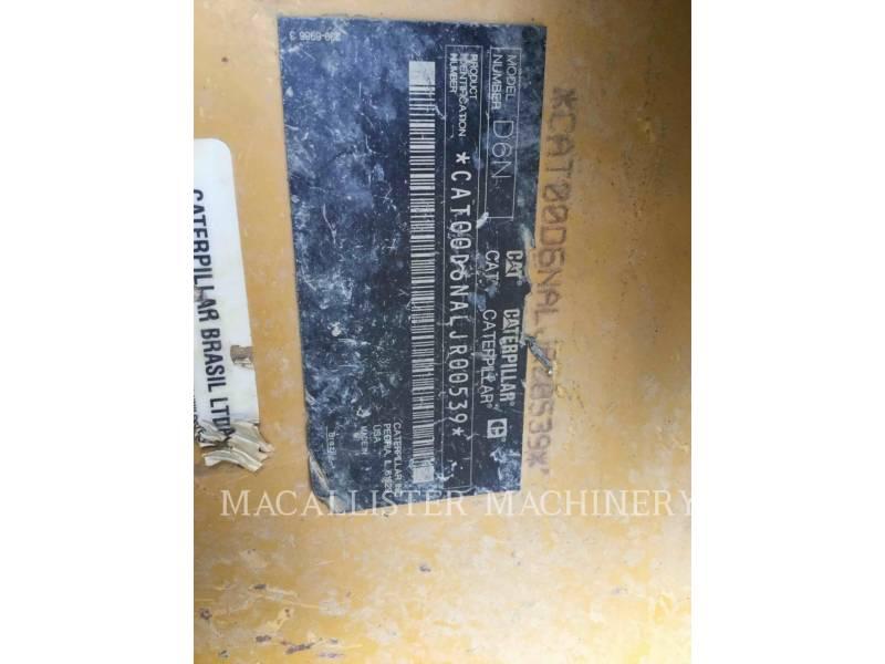 CATERPILLAR TRACK TYPE TRACTORS D6N equipment  photo 5