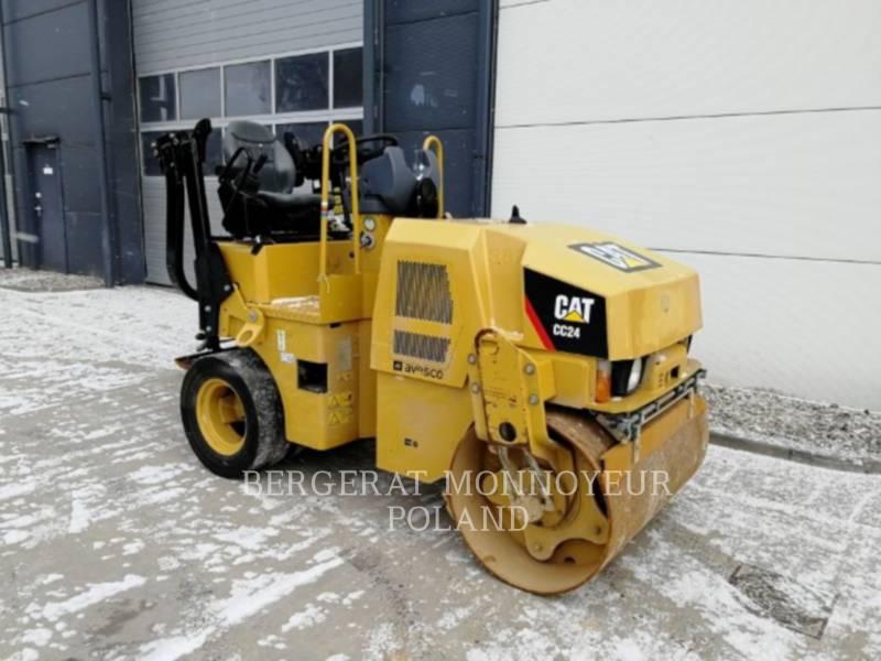 CATERPILLAR COMPACTORS CC24 equipment  photo 8