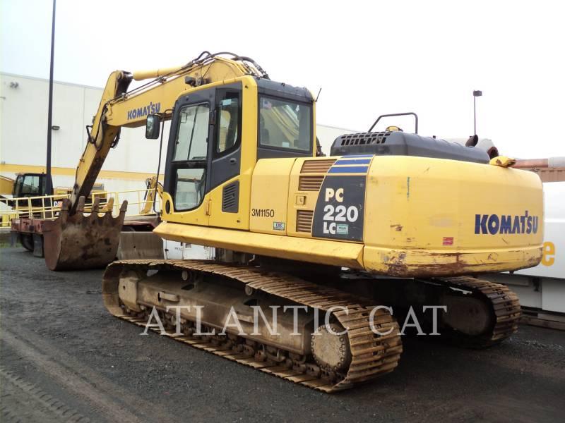 KOMATSU EXCAVADORAS DE CADENAS PC 220 LC-8 equipment  photo 1