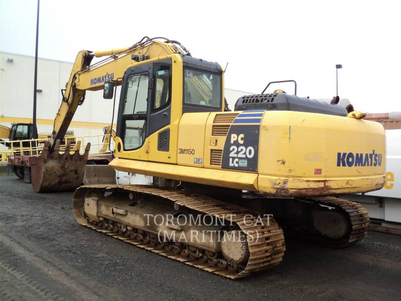 KOMATSU KOPARKI GĄSIENICOWE PC 220 LC-8 equipment  photo 1