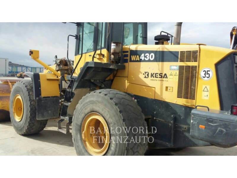 KOMATSU WHEEL LOADERS/INTEGRATED TOOLCARRIERS WA430 equipment  photo 3