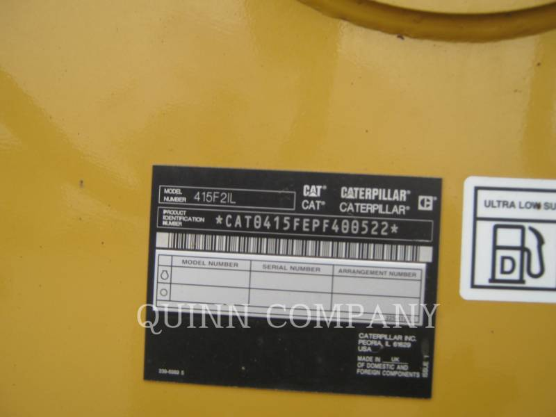 CATERPILLAR CARGADOR INDUSTRIAL 415F2IL equipment  photo 6